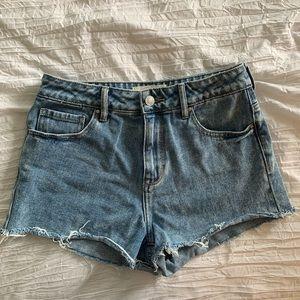 High rise Pacsun Jean shorts